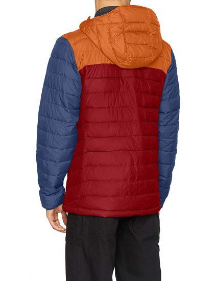 chaqueta columbia otoño